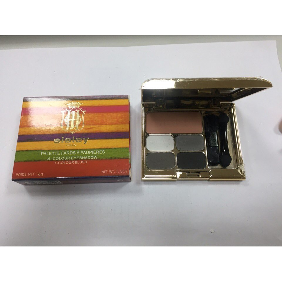 Тени для век + румяна Sisley 4-Colour Eyeshadow 1-Colour Blush 03