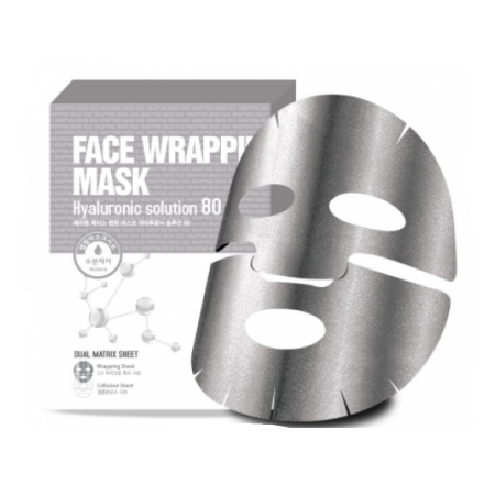 Маска для лица с гиалуроновой кислотой Berrisom Face Wrapping Mask Hyaruronic Solution 27ml