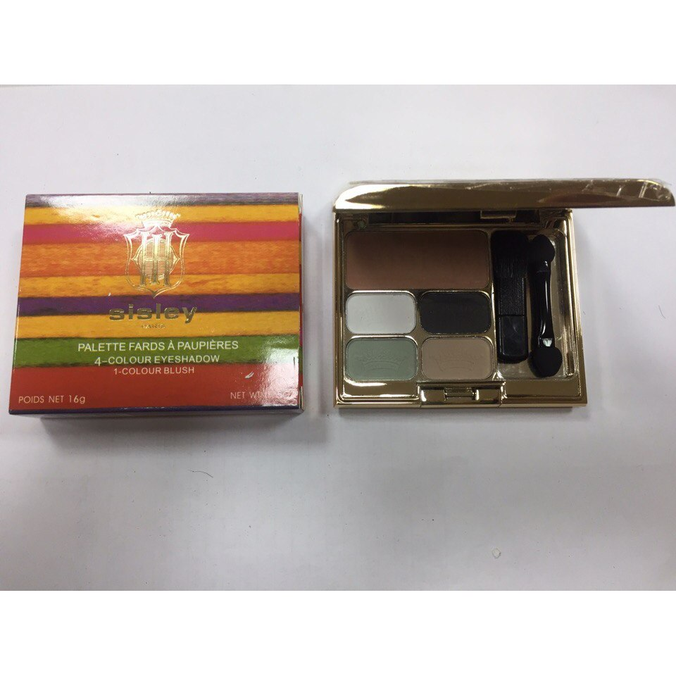 Тени для век + румяна Sisley 4-Colour Eyeshadow 1-Colour Blush 08