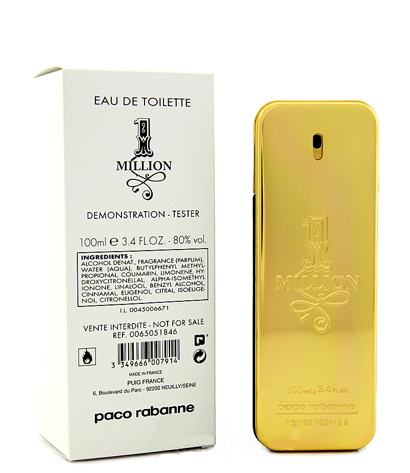 Tester Paco Rabanne 1 Million [5592]