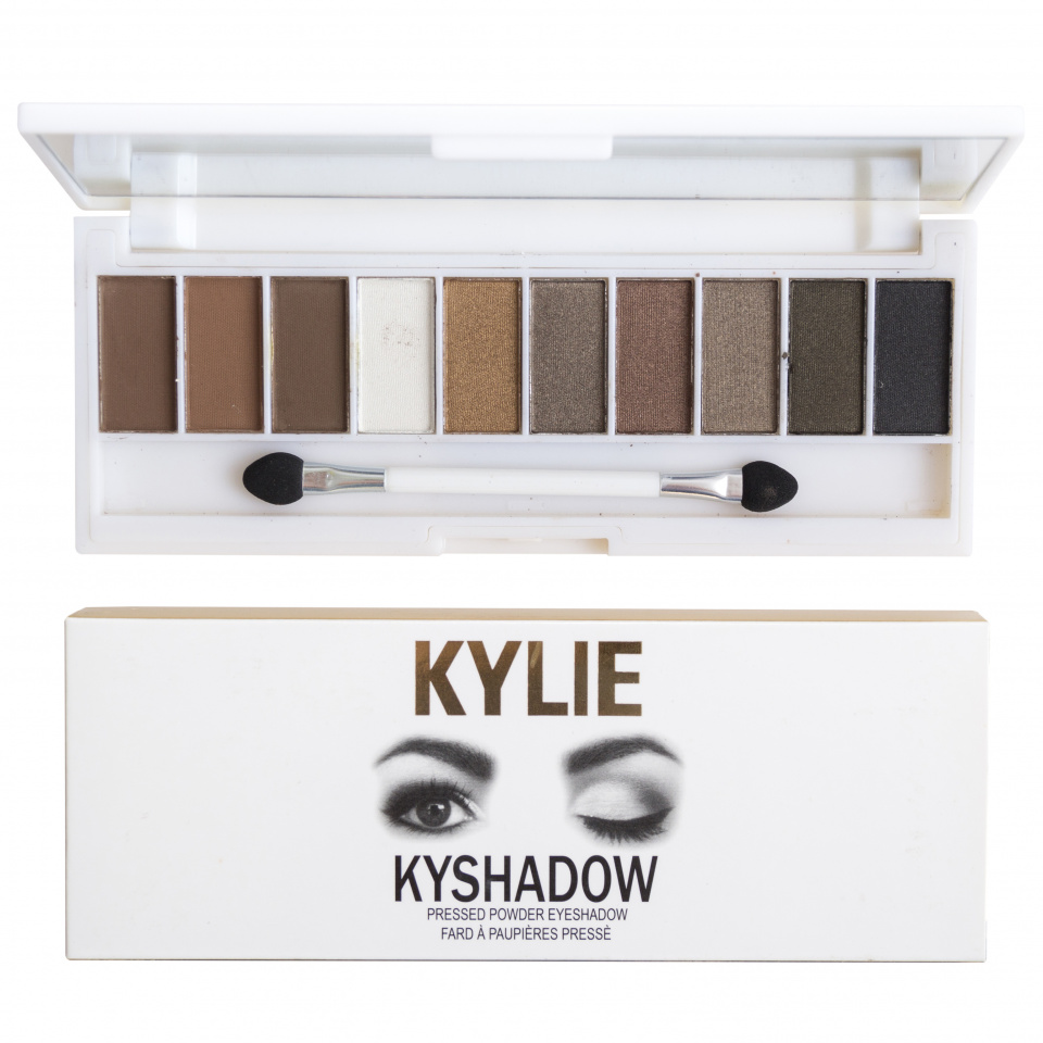 Палитра теней Kylie Kyshadow Pressed Powder Eyeshadow 10 оттенков 05