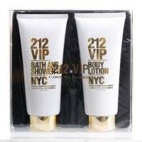 Набор CH 212 VIP 200ml Perfumed Body Lotion + 200ml Bath and Shower Gel [5104]