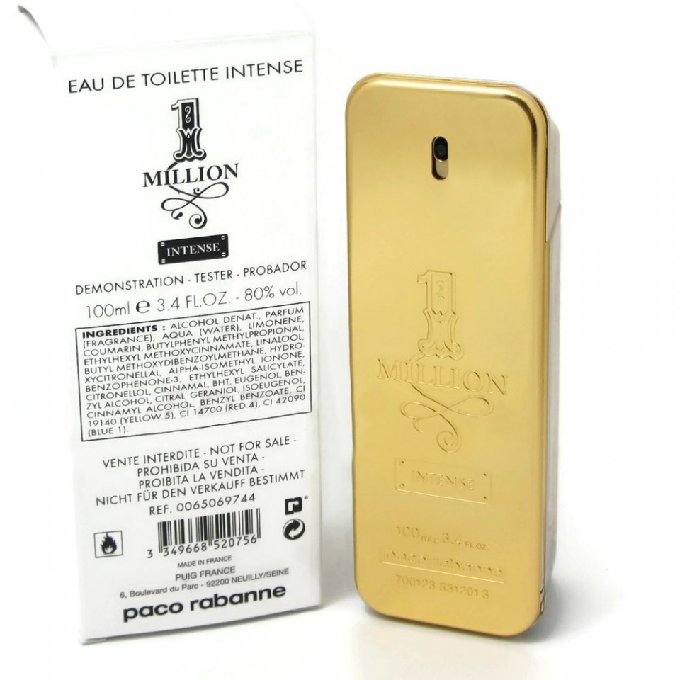 Tester Paco Rabanne 1 Million Intense [5591]