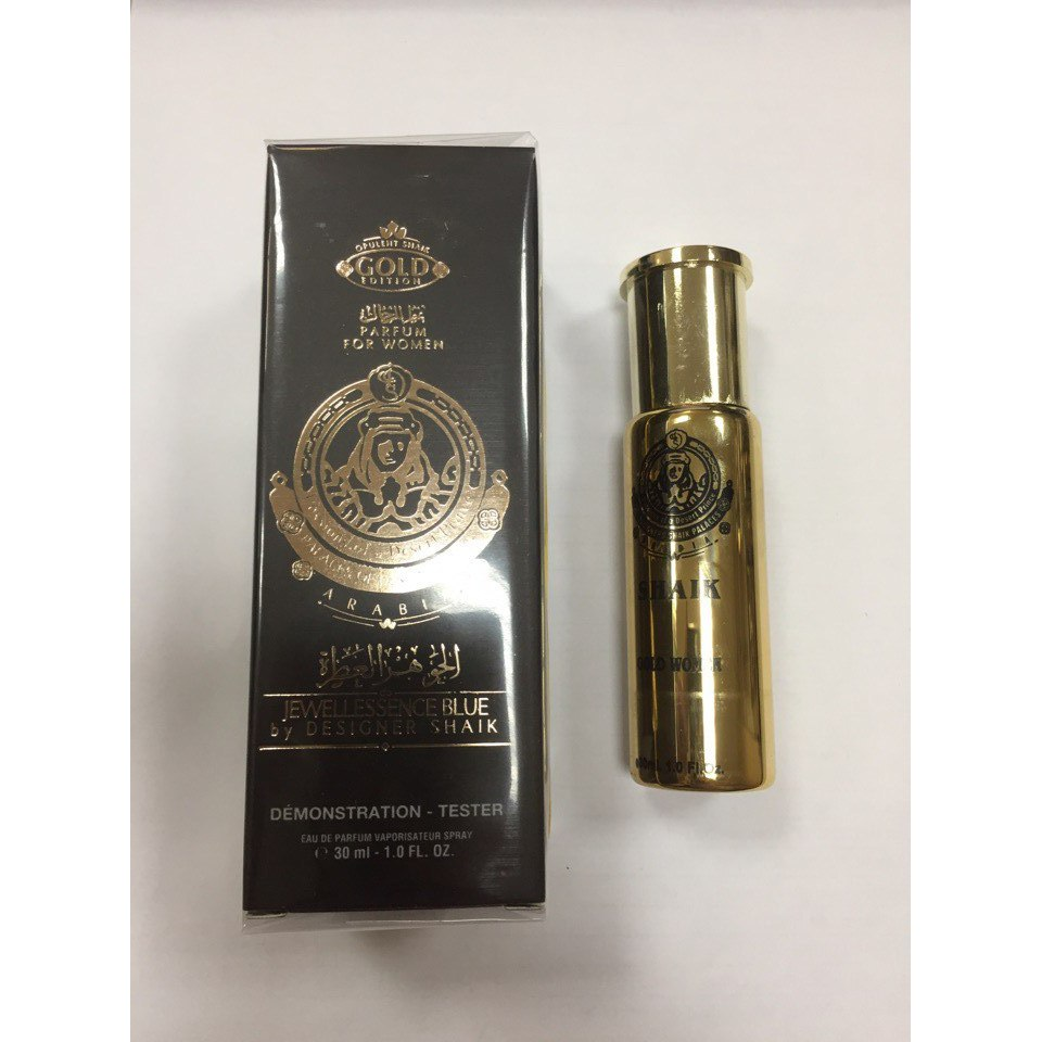 Tester Shaik Opulent Shaik Gold Edition for Women