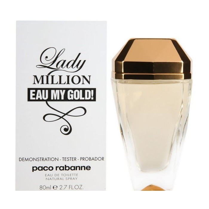 Tester Paco Rabanne Lady Million Eau My Gold [5595]