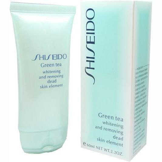 Пилинг для лица Shiseido Green Tea [5154]