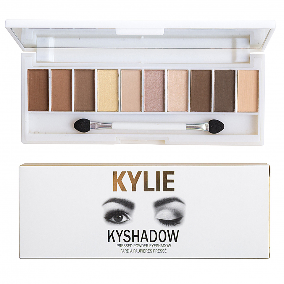 Палитра теней Kylie Kyshadow Pressed Powder Eyeshadow 10 оттенков 06